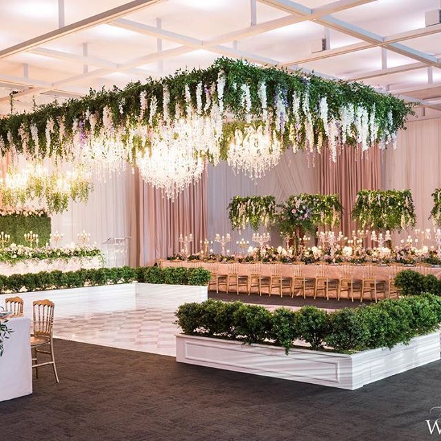 Wedding Ideas With A Difference: When It Comes To Decorating A Venue Draping Can Make All