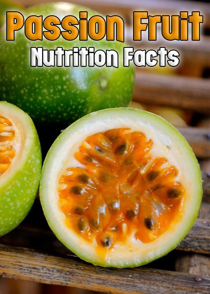 Granadilla Passion Fruit Nutrition Facts (With images