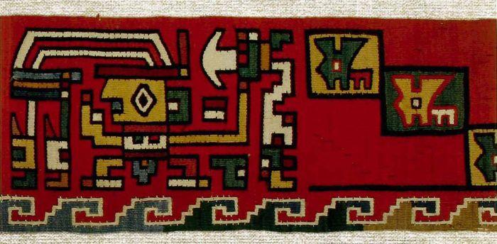 Museo Chileno De Arte Precolombino 187 Faja Tapiz Banda De