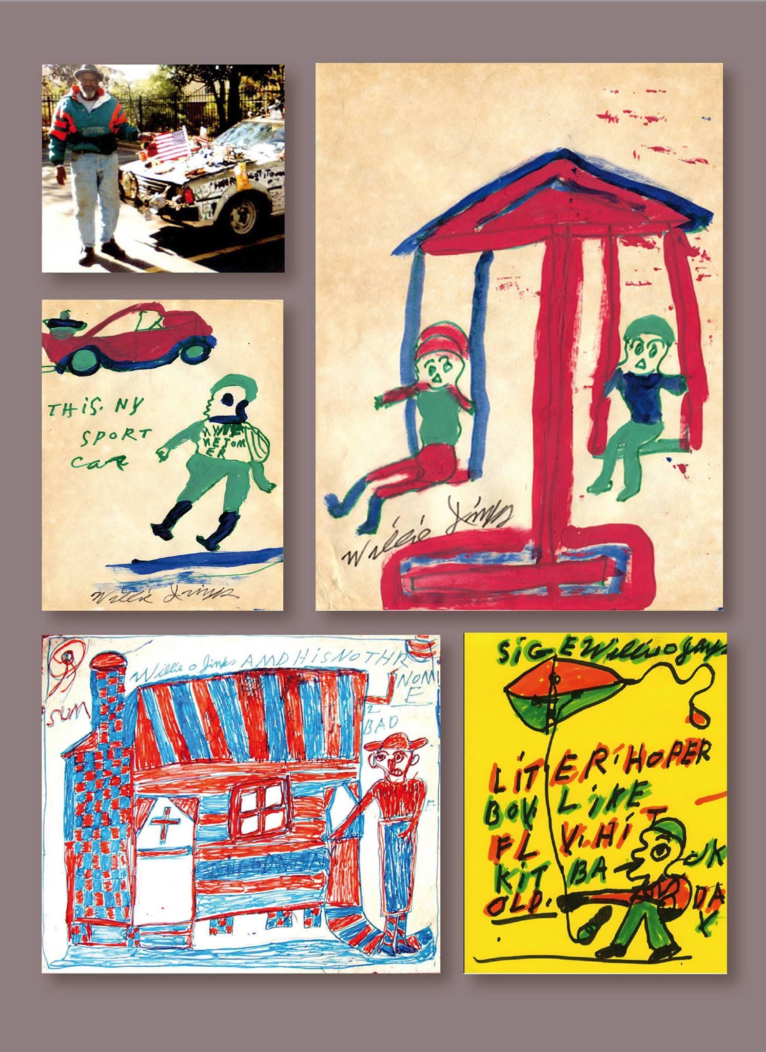 Bad design zeichnung willie jinks was an afroamerican artist born  as one of