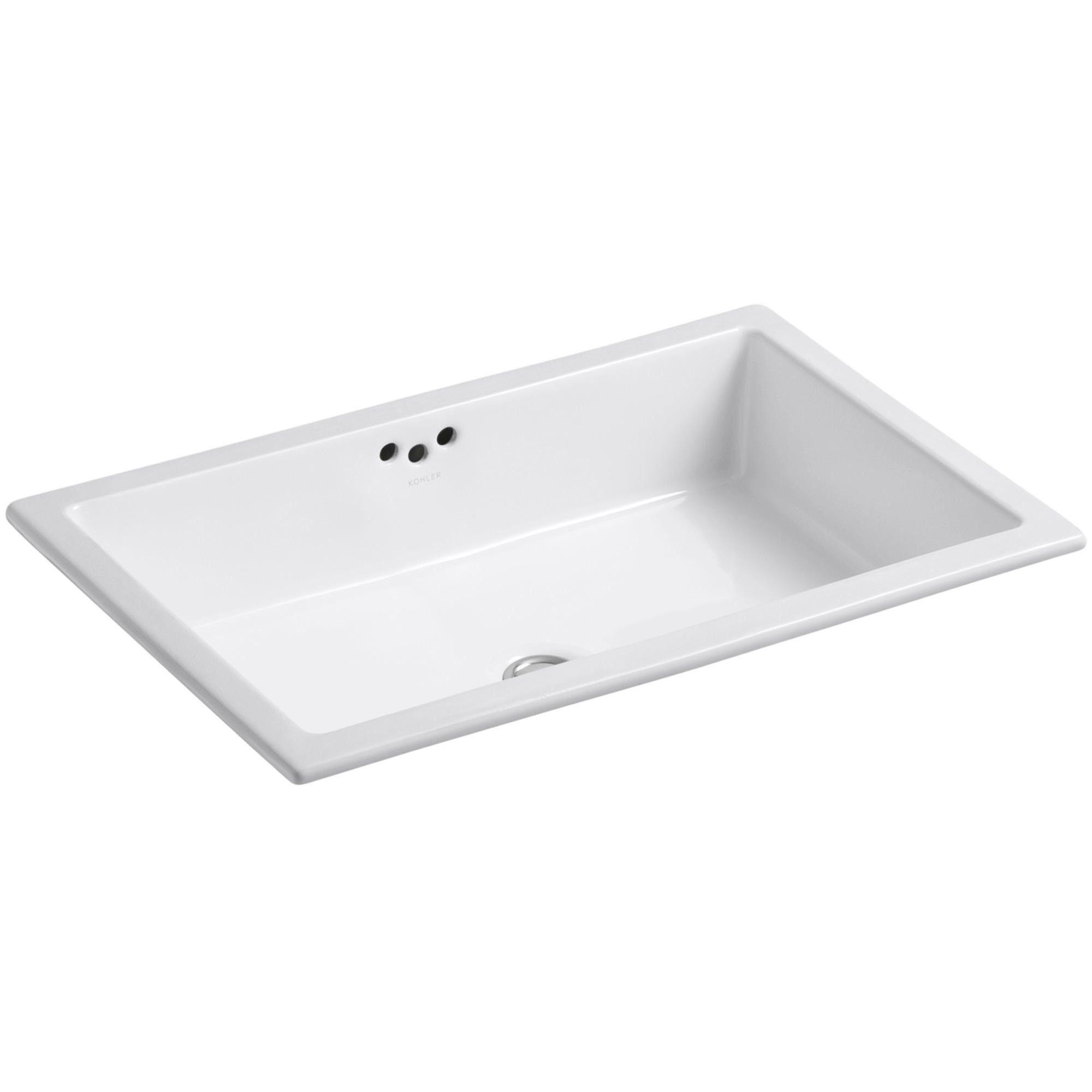 Kohler K 2297 G Kathryn 21 Undermount Bathroom Sink With Overflow