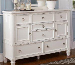 Best Amazon Com Cottage Style White Prentice Bedroom Dresser 640 x 480