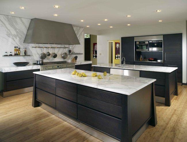 100 idées de cuisine avec îlot central contemporaine ou - plan de cuisine moderne avec ilot central