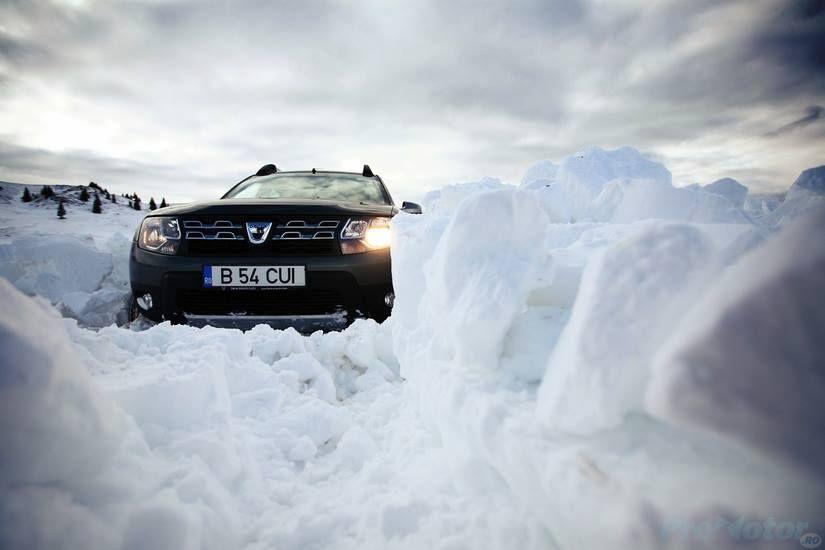Hmm In Sfarșit O Provocare Dacia Duster Snow Promotor