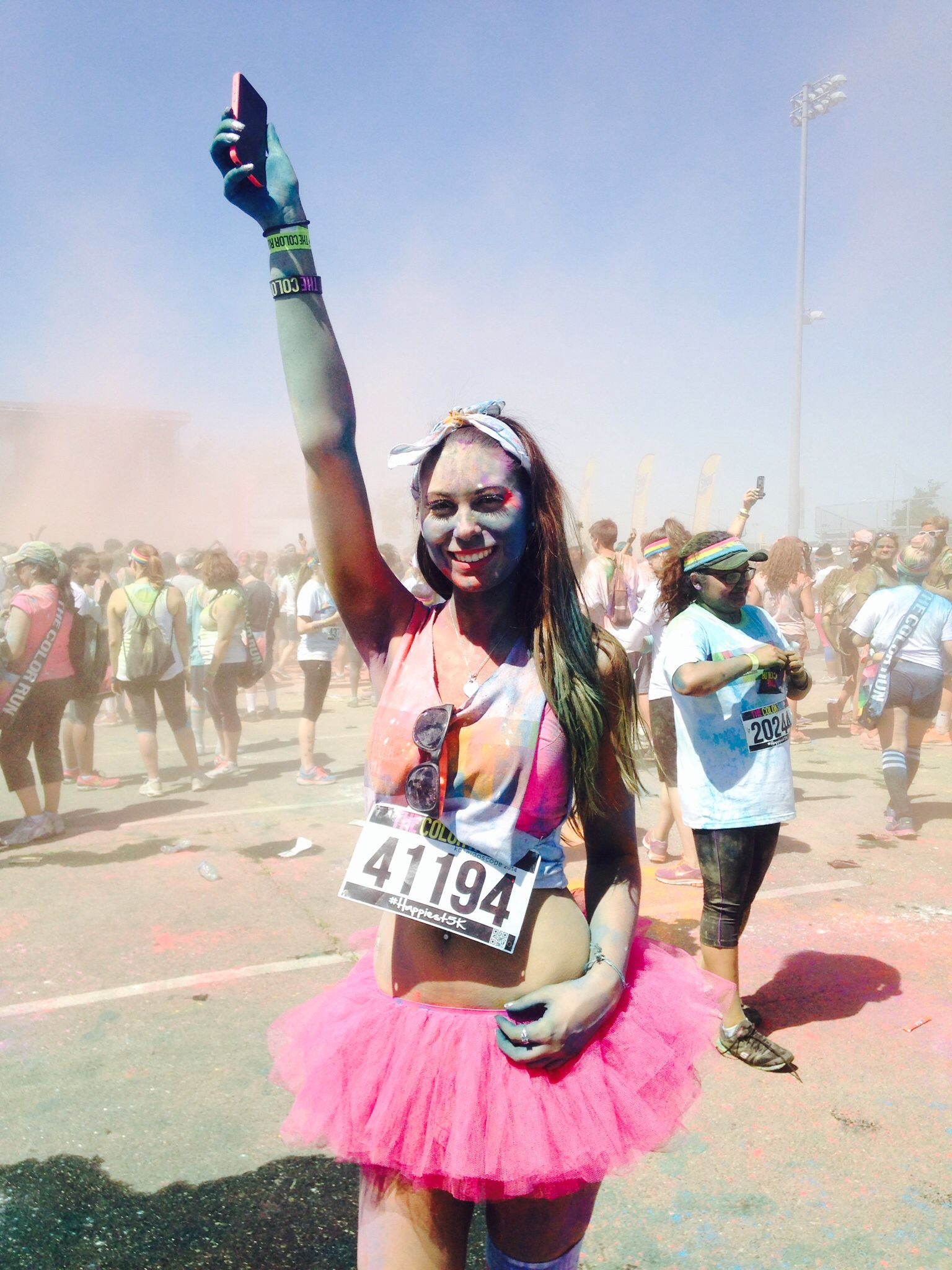 Daftar Harga The Pink Panther 2 A Mixed Bag Of Mayhem 3 Daddy Mojo Atteenahijab Atiqa Raudha Biru Turkis Color Run Outfit Shirt Tutu From Party City Thigh