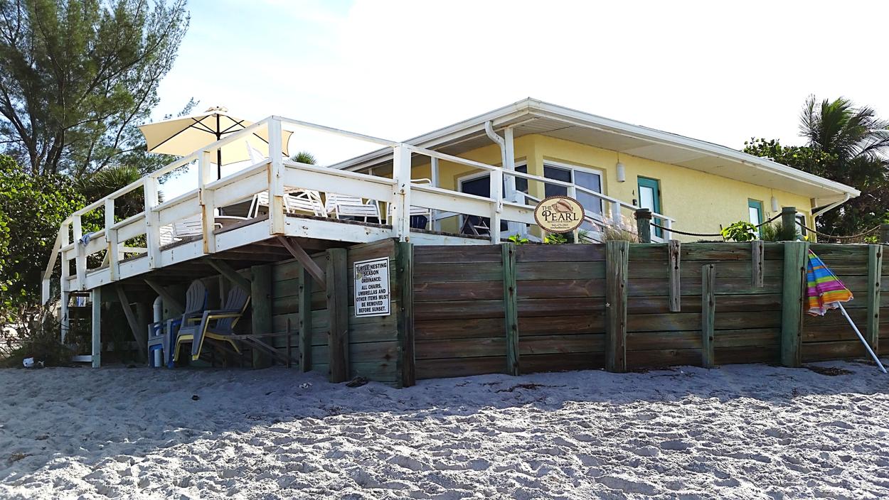 The Pearl Beach Inn is ON the beach! | Florida hotels ...