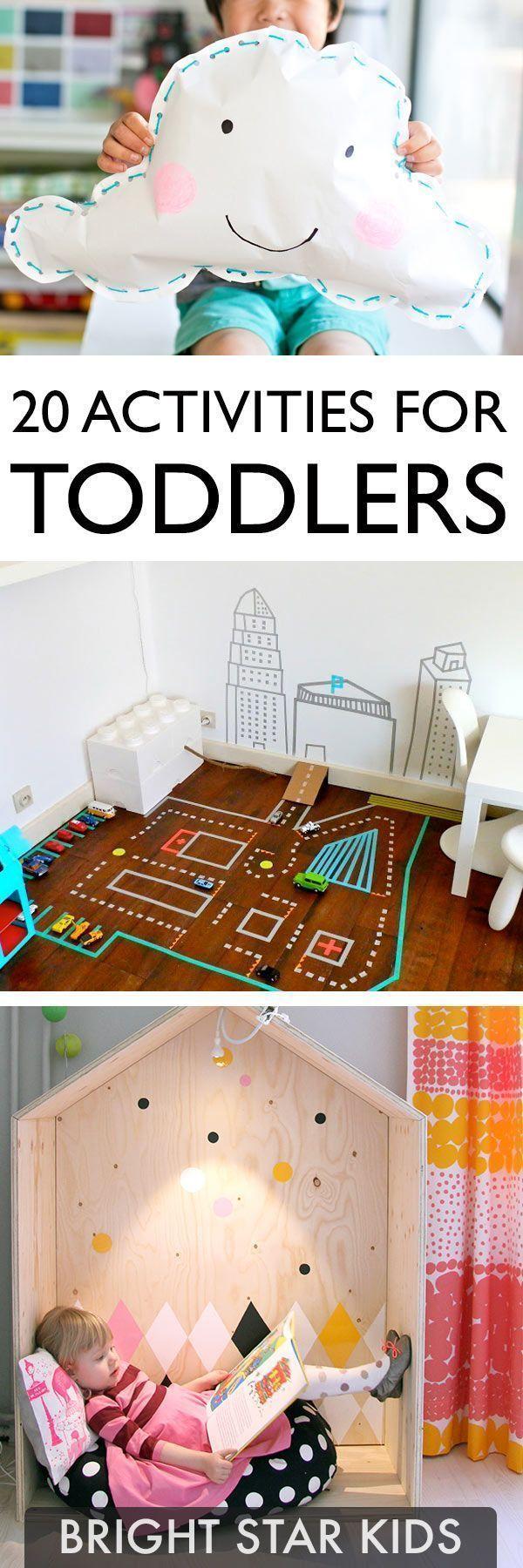 20 Fun Toddler Activities