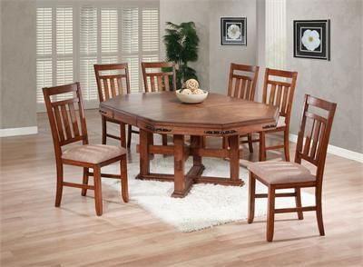 73 Chapman Mission Medium Oak Dining Table With Chairs Contemporary Dining Room Sets Dining Room Sets Dining Table Solid oak dining room sets