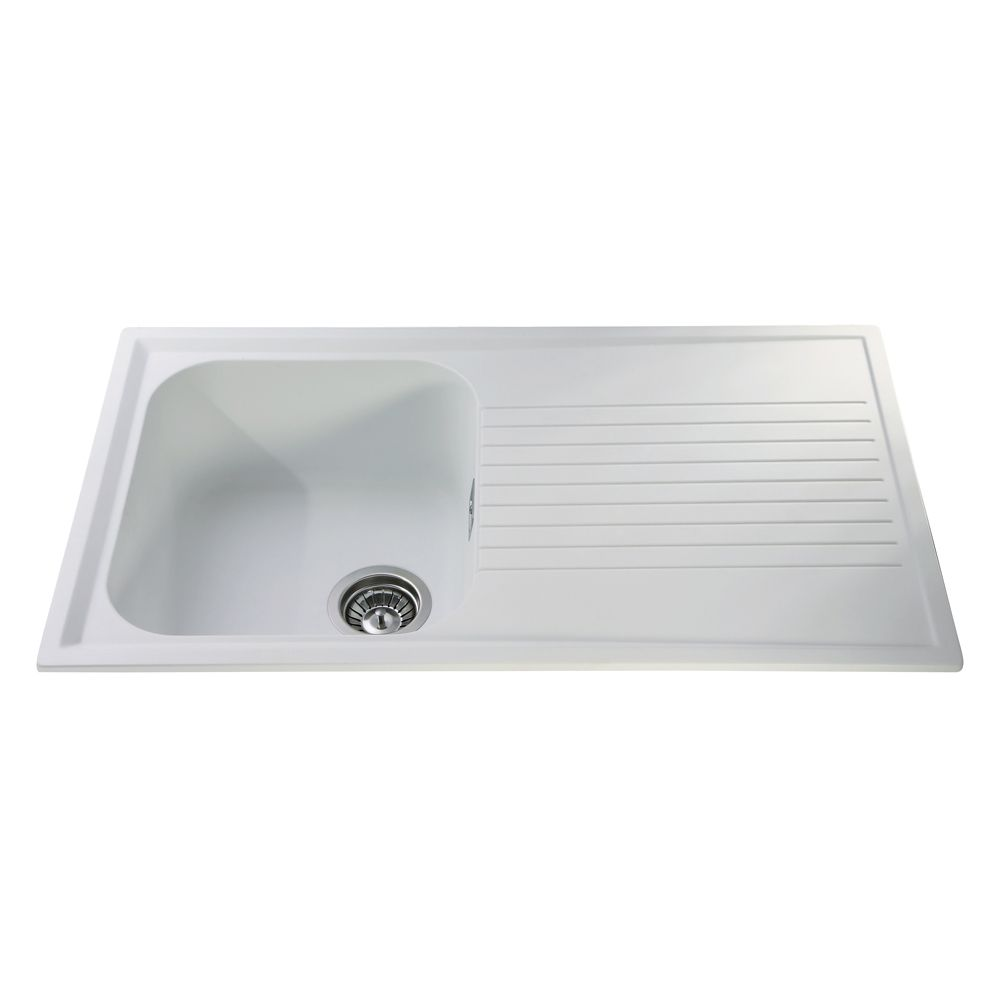 CDA Composite Single Bowl Sink - AS1 £125 at solmer.co.uk | sprucing ...