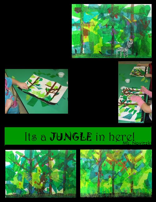 Junglescape Png 500 647 Elementary Art Projects Kindergarten Art Art Lessons Elementary