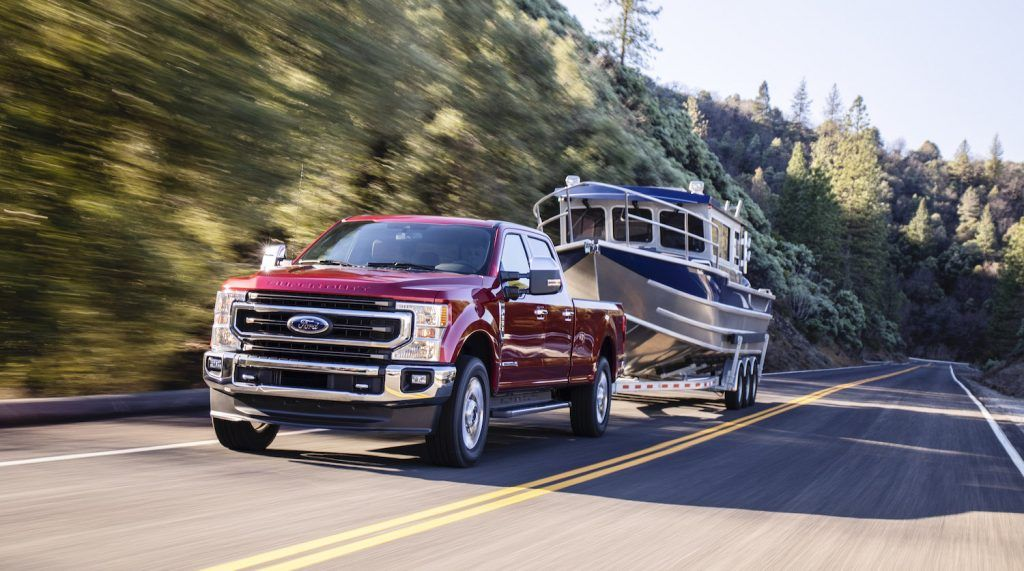 2020 Ford Super Duty Can Tow a Staggering 37,000 Lbs