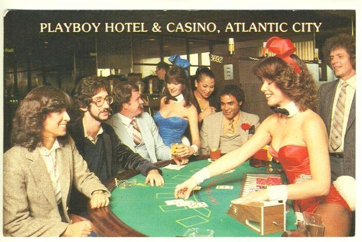 Atlantic City Nj Playboy Hotel Casino Bunny Dealing