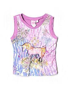Practically New Size 5 Lipstik Girls Sleeveless T-shirt for Girls