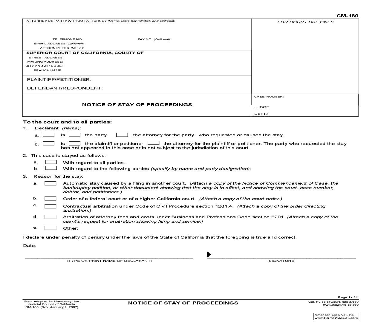 Judicial Council Form Complaint This Is A California Form That Can Be Used For Case Management .