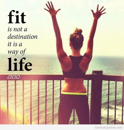 Fitness tumblr image quote #exercise