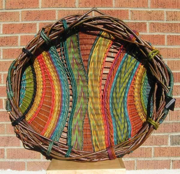 Basket Weaving Fiber : Woven art fiber arts fabrics embellishments etc