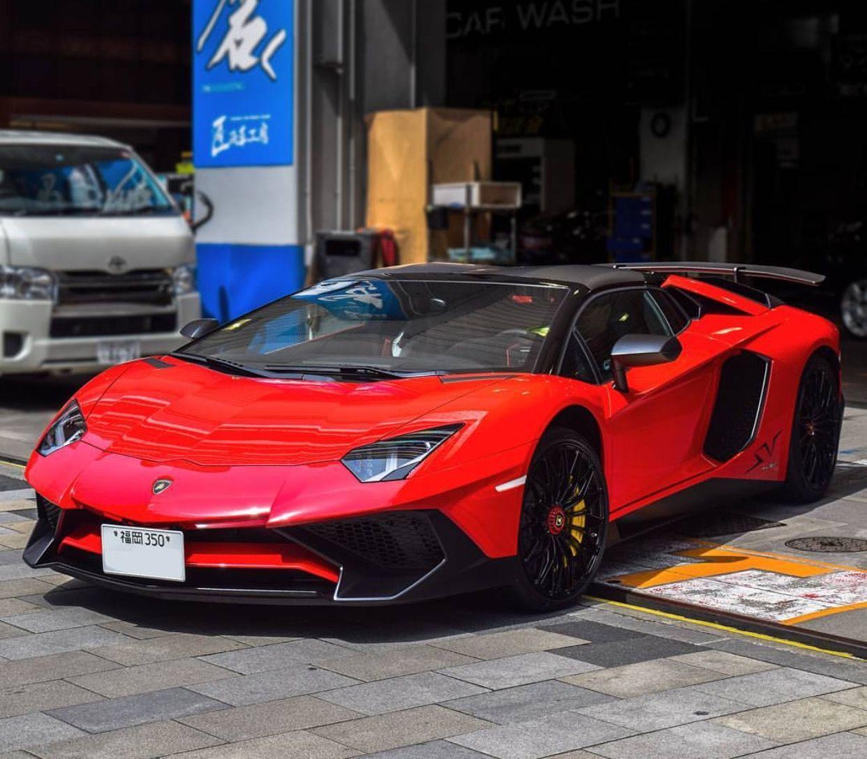 Lamborghini Sport: Lamborghini Aventador Super Veloce Roadster Painted In