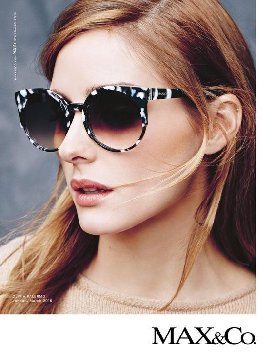 The Olivia Palermo Lookbook   Olivia Palermo For Max Co   sunglasses ... 3e2cb06213