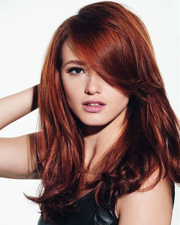 Long Hairstyles And Color Amazing 17 Best Dark Red Hair Color Ideas  Wine Hair Dark Red And Hair