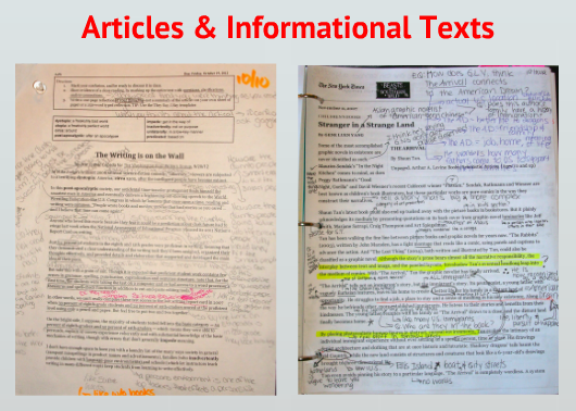 Article annotation