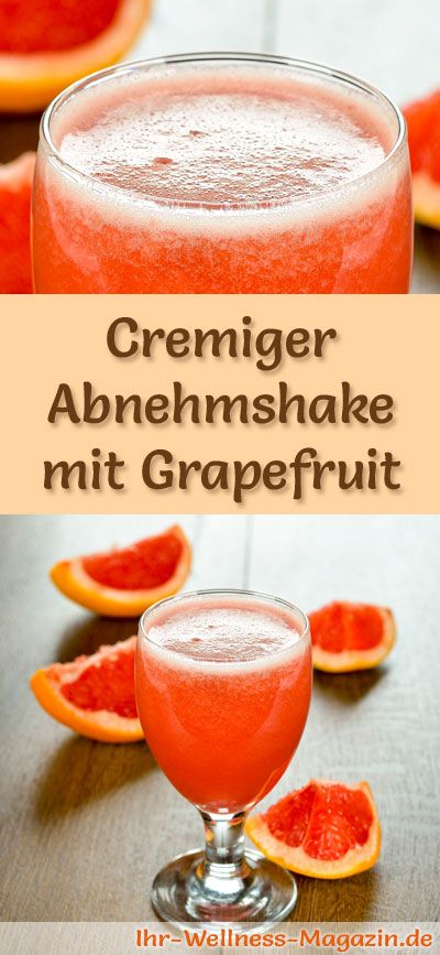 abnehmshake mit grapefruit smoothie eiwei shake zum. Black Bedroom Furniture Sets. Home Design Ideas