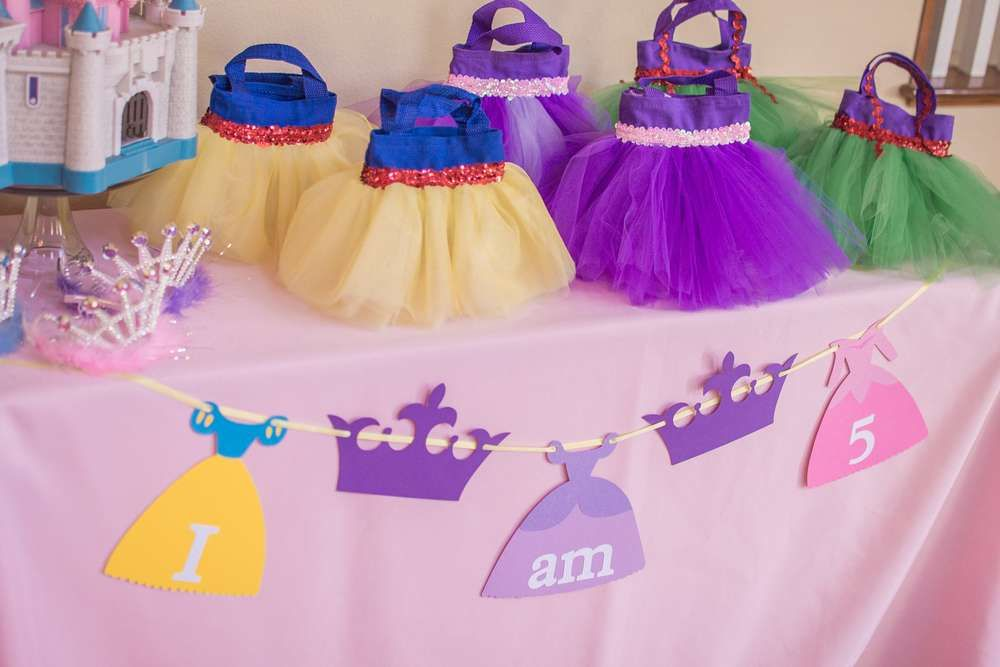 Disney Princess Birthday Party Ideas | Photo 1 of 33 | Catch My Party