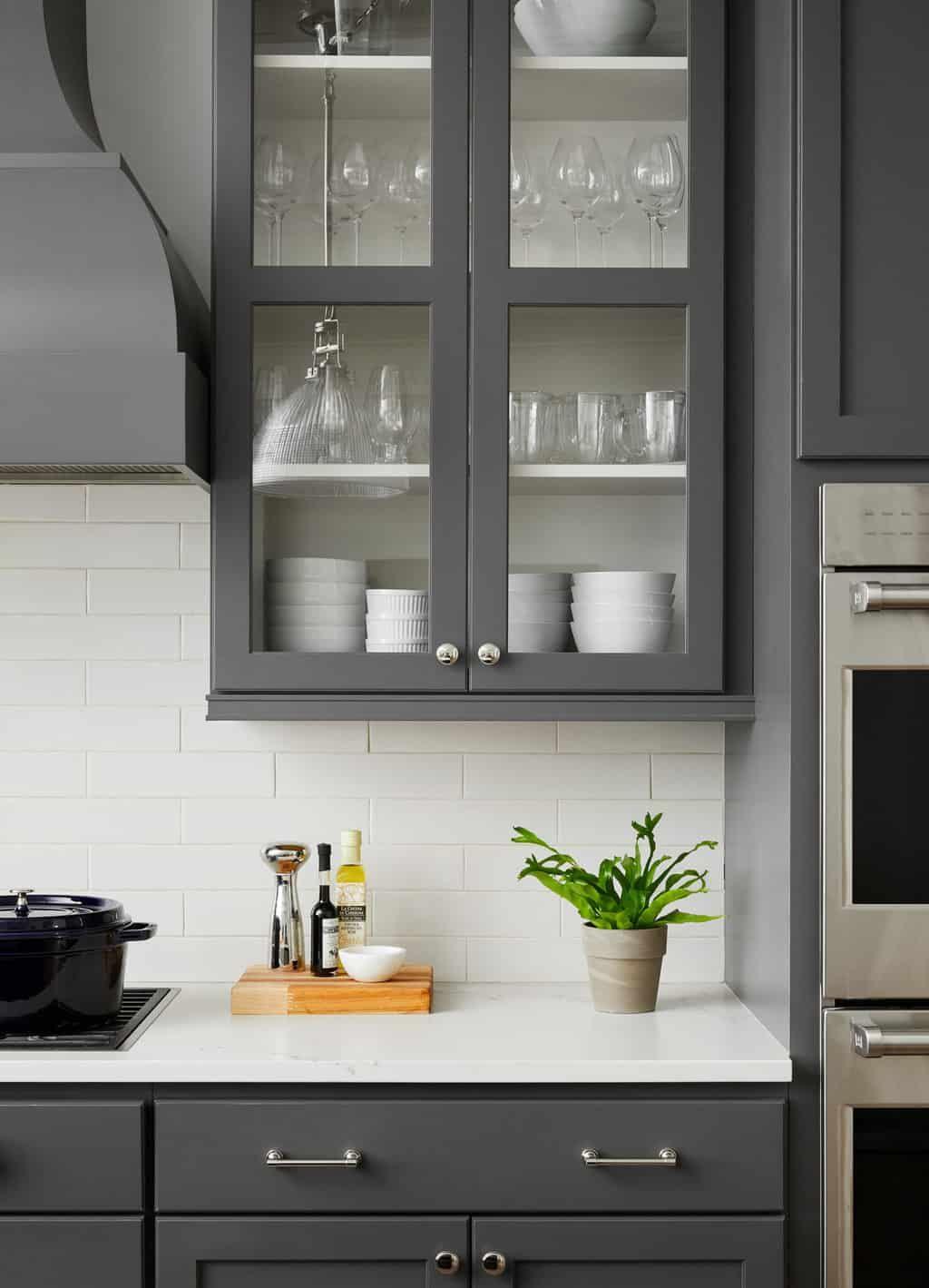 Dark Gray Kitchen Cabinets Trending For 2020 In 2020 Dark Grey