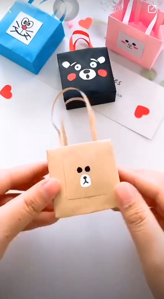 DIY MINI PAPER BAG