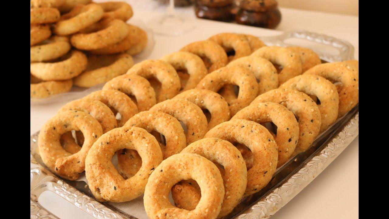 كعك العيد الاساور الفلسطيني الشهير بهش هش وصفة رائعة للعيد Youtube Arabic Dessert Food Arabic Food