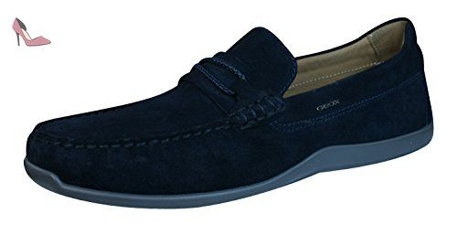 U Hampstead B, Mocassins Homme, Noir (Black), 44 EUGeox