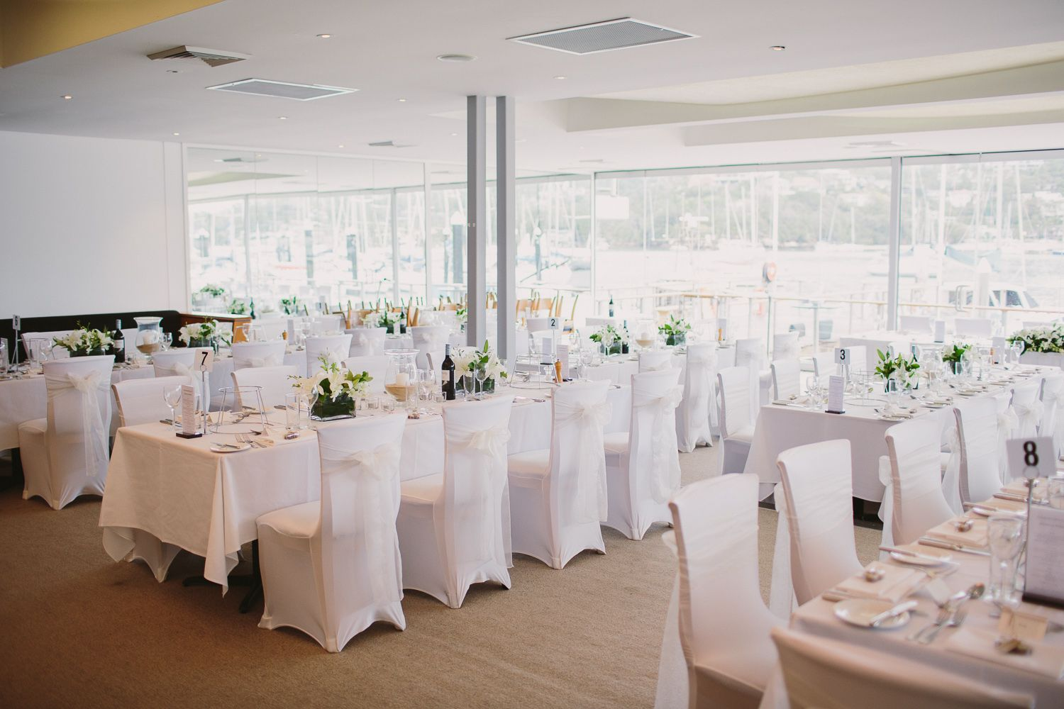 ORSO Bayside Reception | Mosman Sydney Wedding Venue | Jonathan ...
