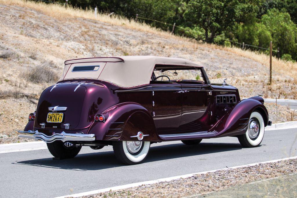 1938 Pierce-Arrow Twelve Convertible Phaeton by Bohman & Schwartz