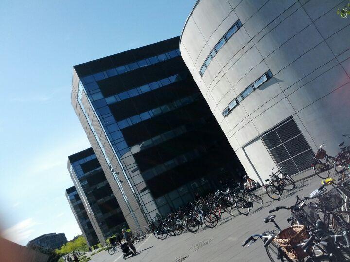 Copenhagen Business School / Handelshøjskolen, Frederiksberg Region Hovedstaden. Copenhagen Business School – Handelsskolen på Frederiksberg i København er tegnet af den verdensberømte danske arkitekt Henning Larsen, der også står bag byen operahus. Byggeriet er fra 1989.
