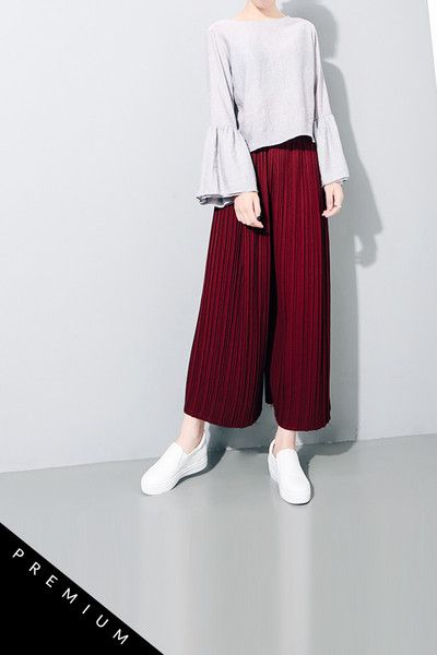 6173971a5ad Pleated Pants Hijab Casual