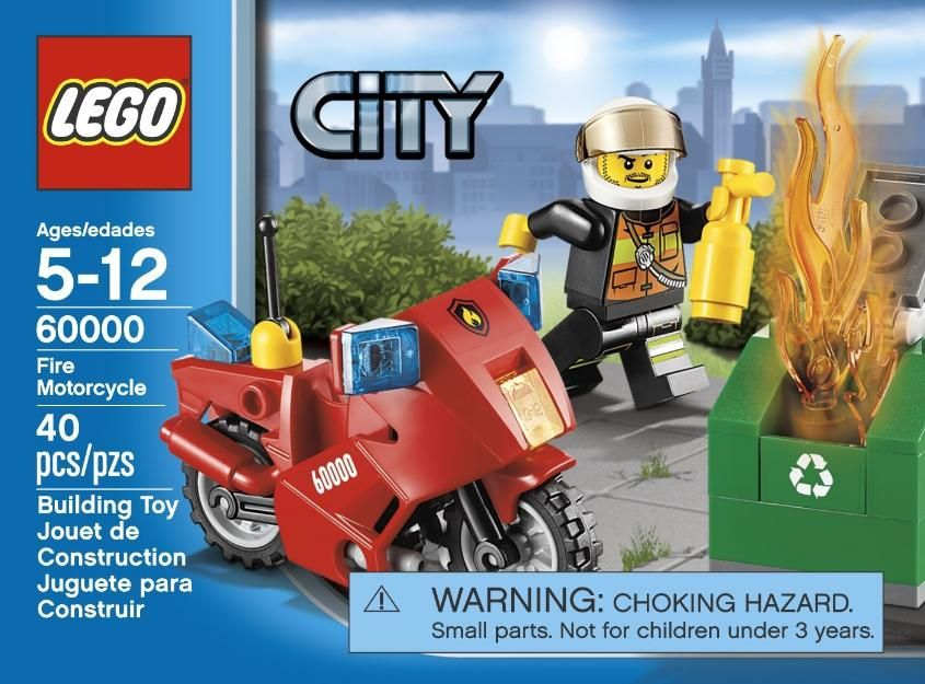 LEGO City Moto de Bomberos  Proyectos que debo intentar