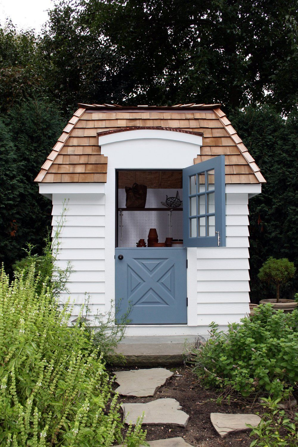 10 Tips For Adding A Dutch Door In Your Home Shed Wood Shed Plans Backyard Shed