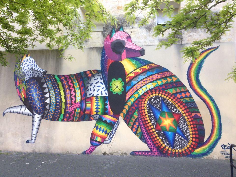 Mexico 2015, place Paul et Jean Paul Avisseau, Bordeaux, France. Mylene Meyssonnier.