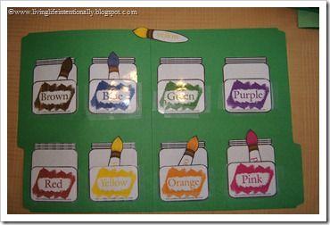 Favorites Preschool File Folder Games   File folder games, File ...