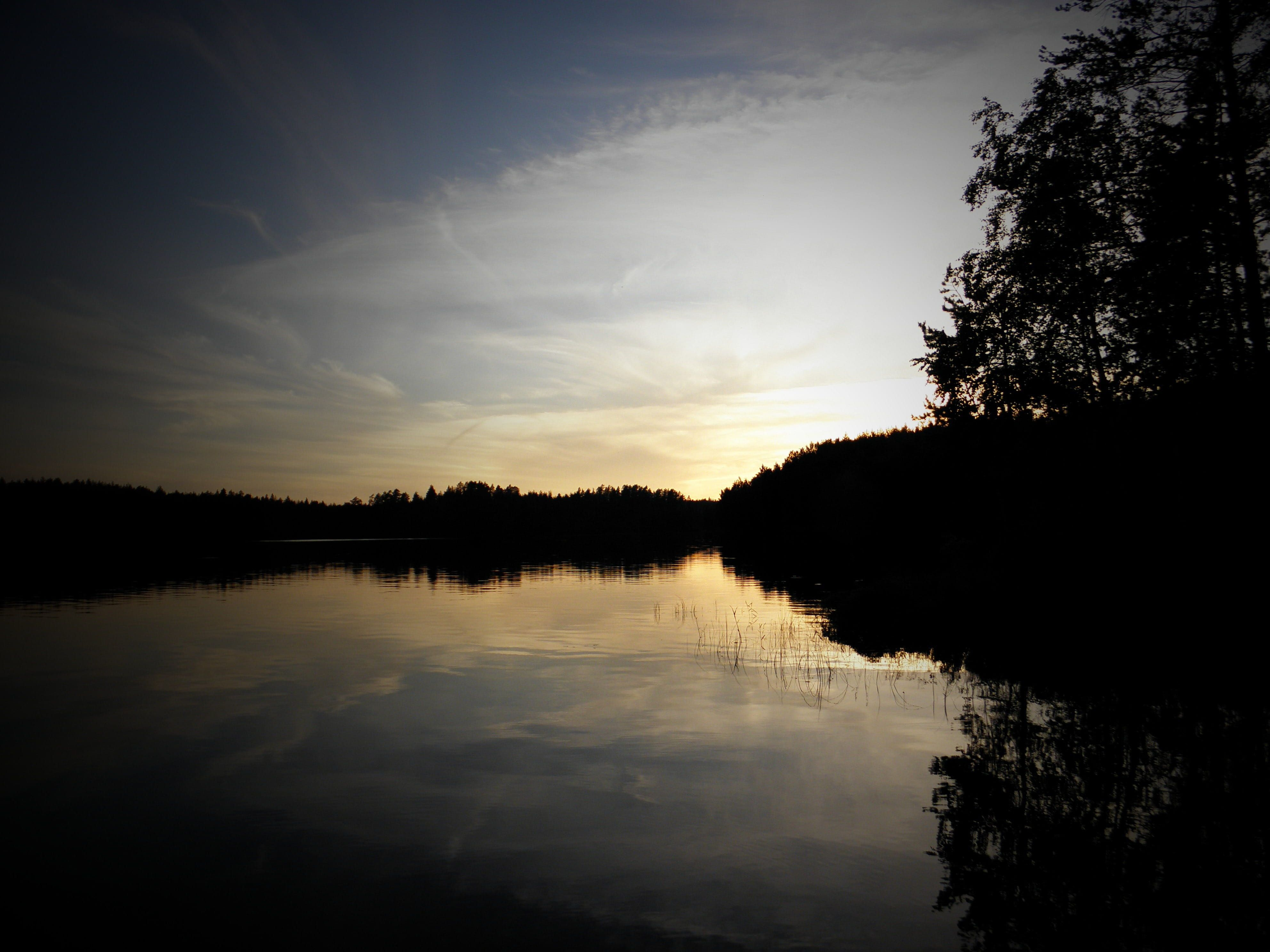 lake in finland tranquil Scene beauty In Nature no People