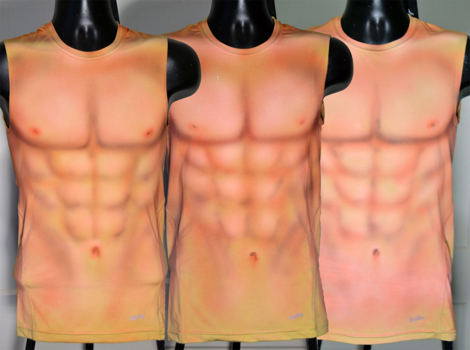 Custom Listing For User Airy 3 Airbrushed Muscle Shirts S M L