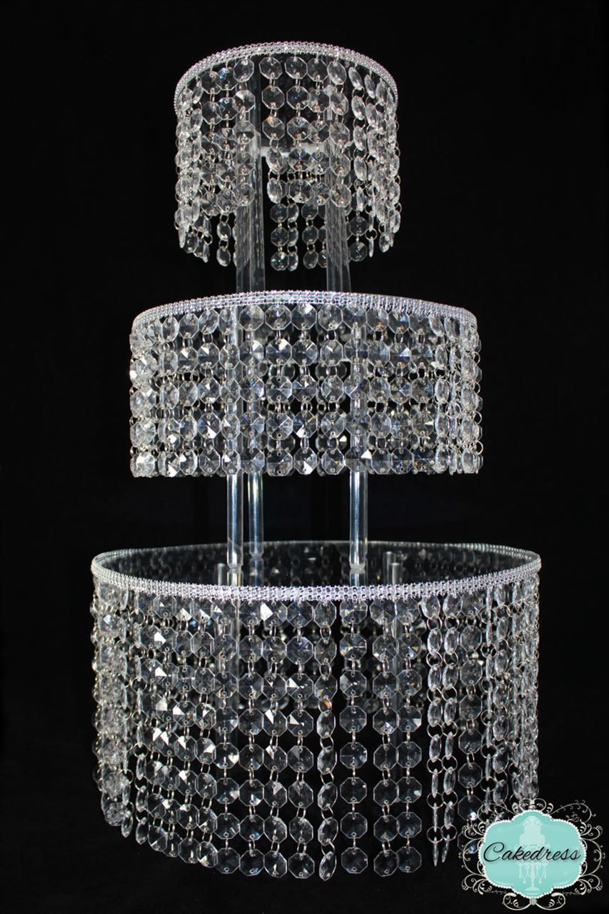 crystal wedding cake stands 3 tier wedding cake stand catering ideas 3210