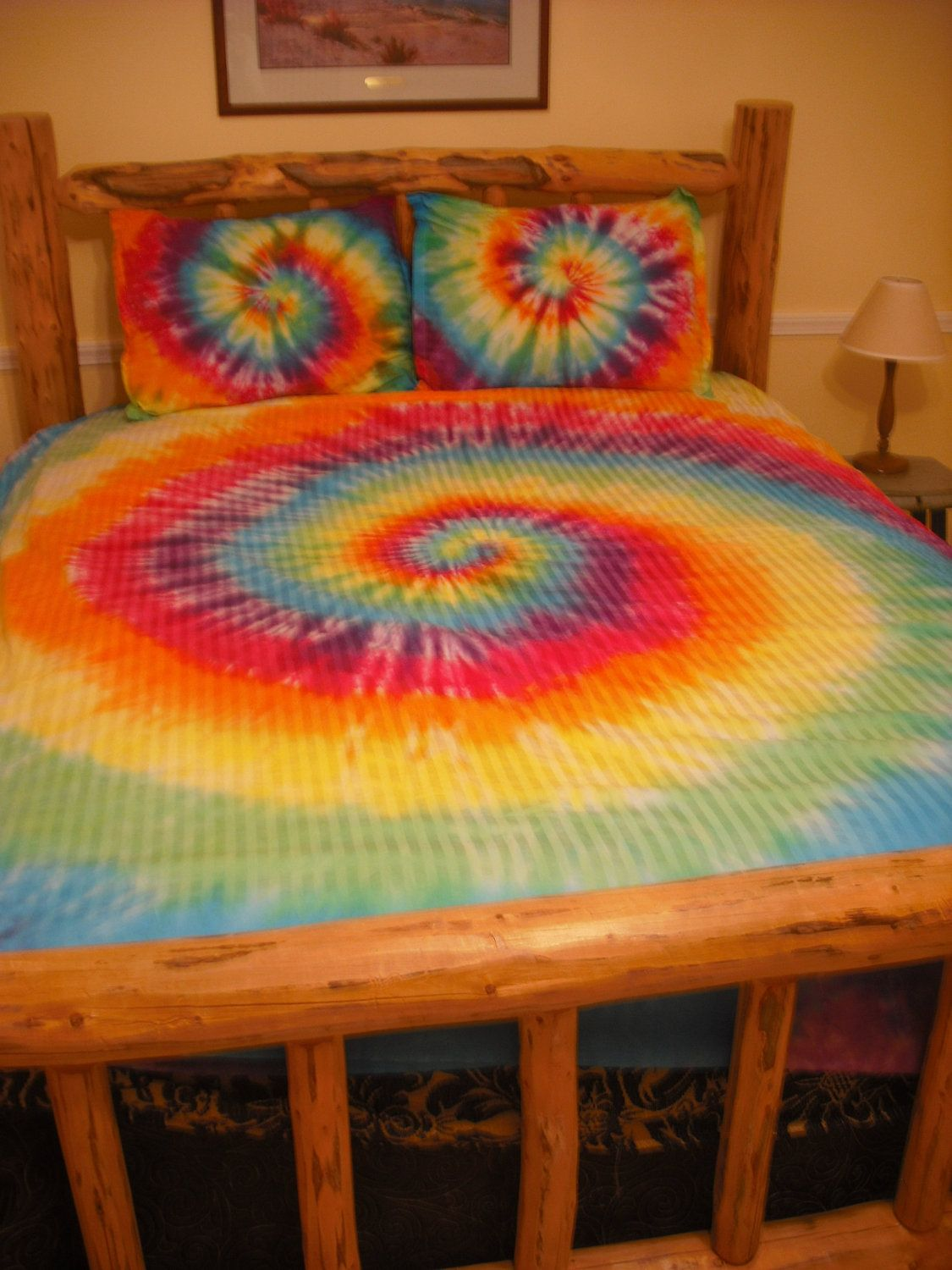 Tie Dye Cover set Twin, Full/Queen, or