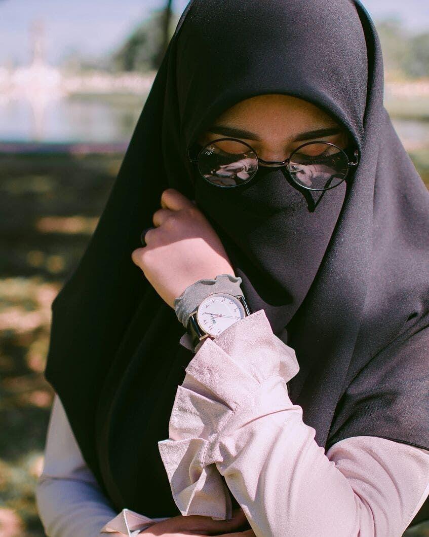 Pin oleh アニメアート MALAYSIA di girl asian Niqab, Jilbab