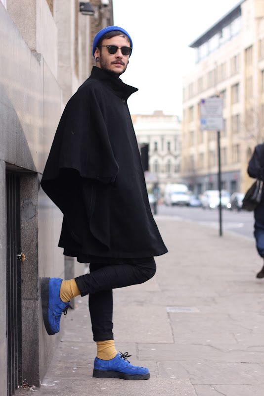 e06e11a294b Block colours. Cape. East London fashion. Mens fashion.