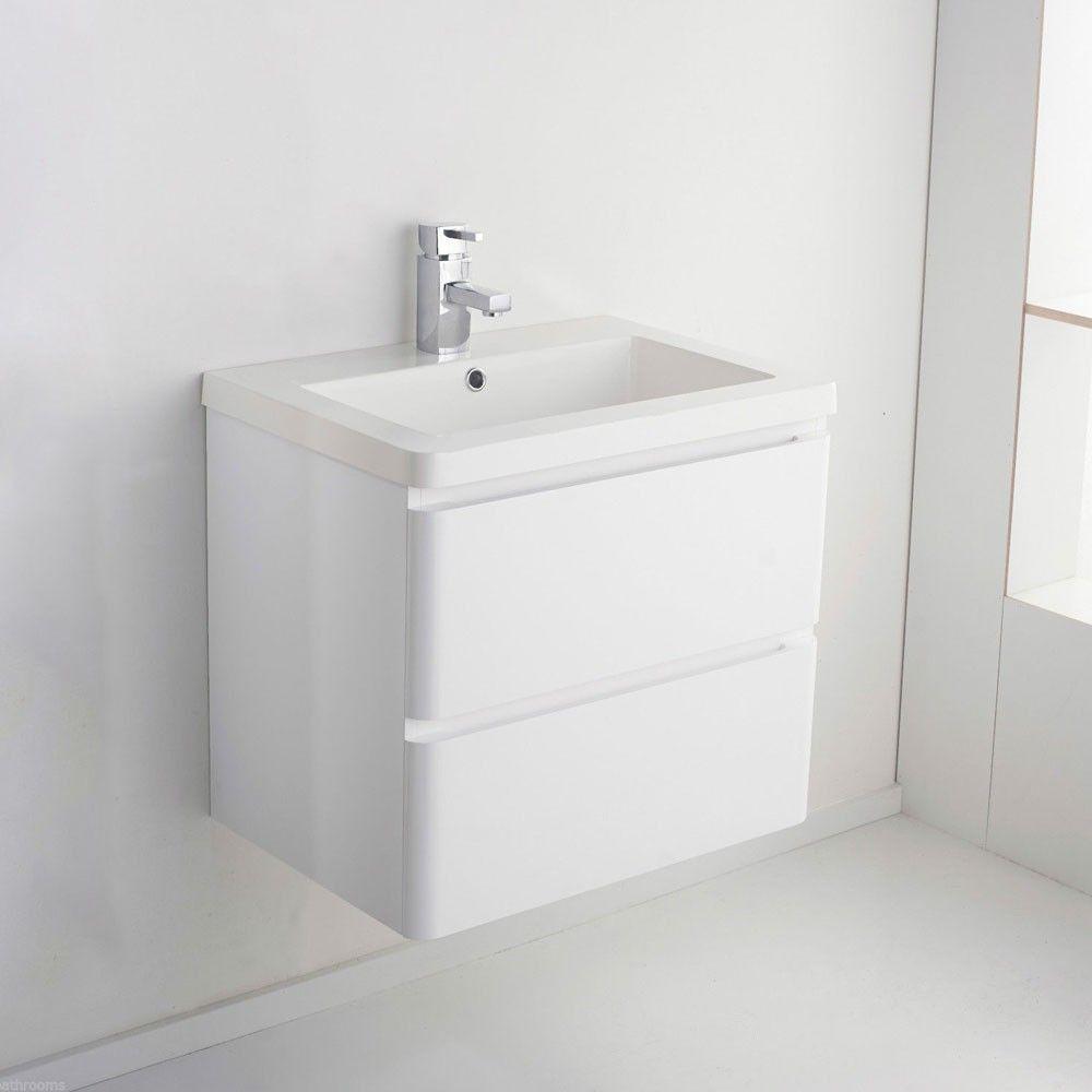 Uncategorized Wall Hung Unit saniva wall hung white gloss basin vanity unit 400mm units pinterest vanities and hu