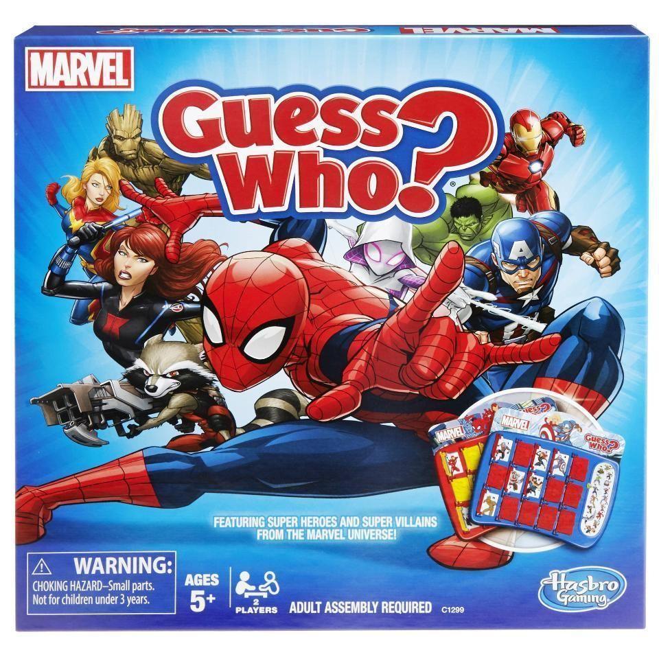 Marvel Guess Who? Game | Secret pals | Marvel, Marvel heroes