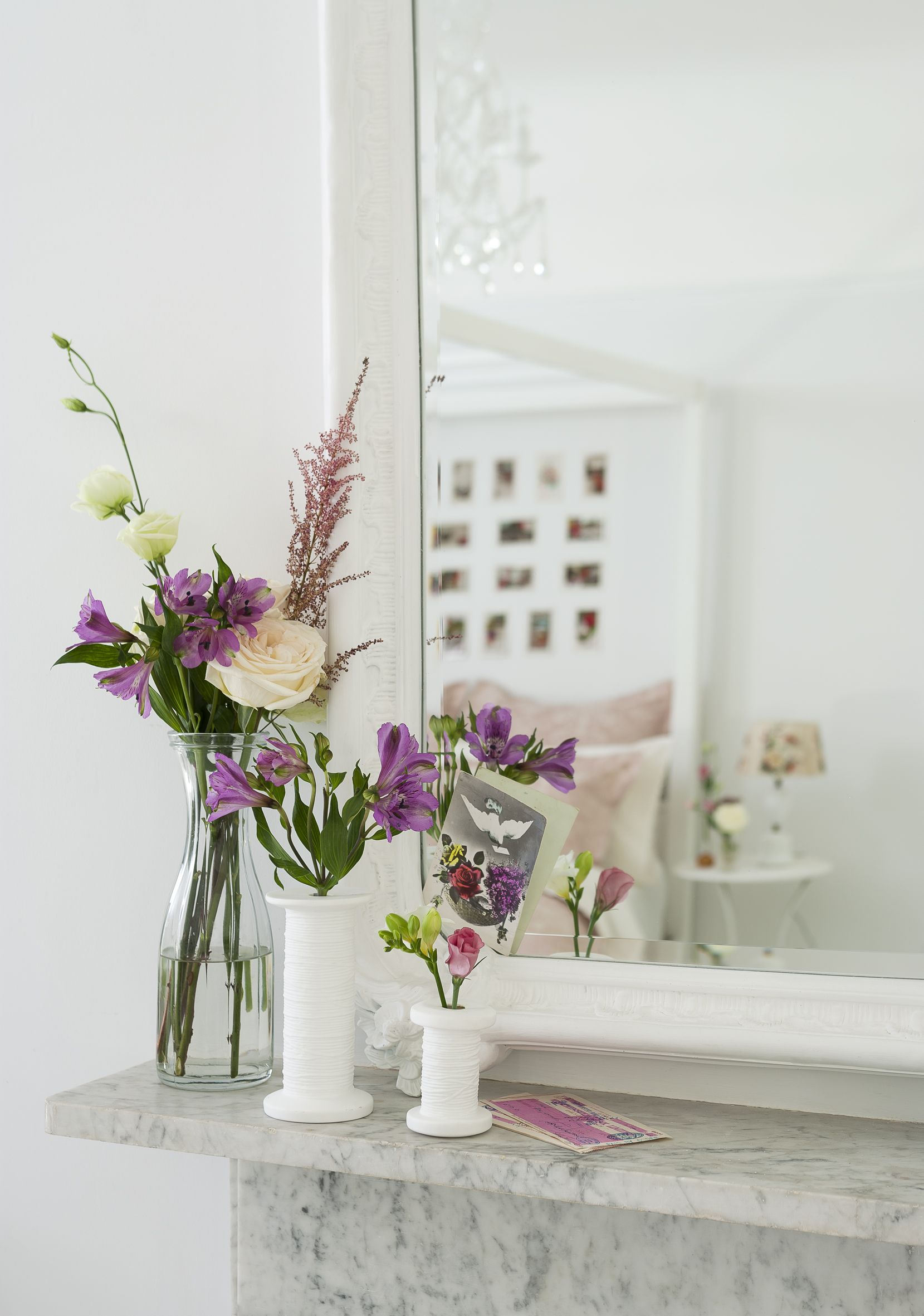 Pretty Country Bedroom Floral Arrangement