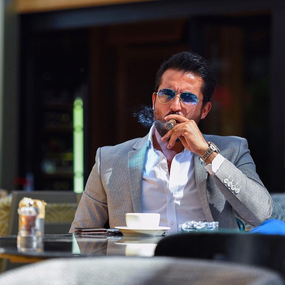 "485 Likes, 14 Comments - Tufan İrfan (@tufanir) on Instagram: ""Smoke A Good cigar and dress @faruk_sagin @faruksagin_gardrobe """