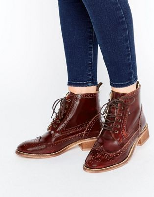 ASOS ARTISTRY Leather Lace Up Brogue
