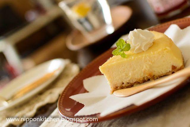 ชีสเค้กเต้าหู้อ่อน (Tofu Cheesecake) ~ Nipponkitchen